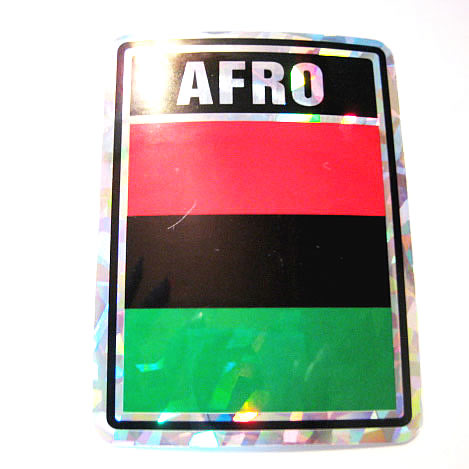 アフリカステッカー