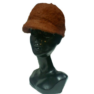 モヘアキャップ帽子