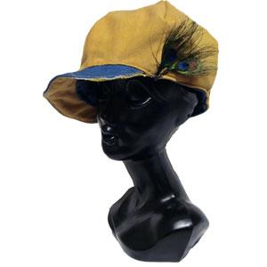 リメイクリバーシブルキャスケット帽子