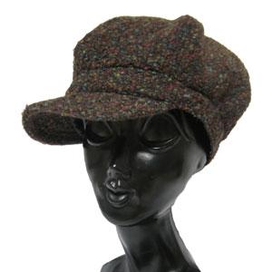 パッチワークハンチング帽子