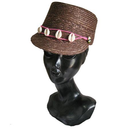 ストローハット 帽子
