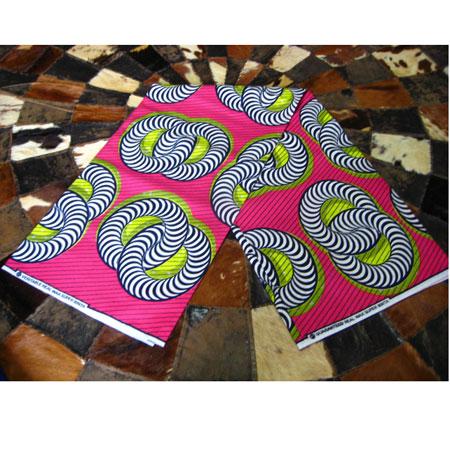 アフリカンバティック・ピンク