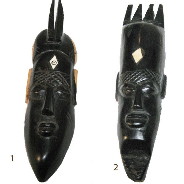 木彫りマスク アフリカ