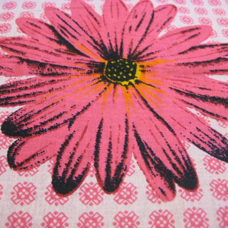 花柄カンガ布