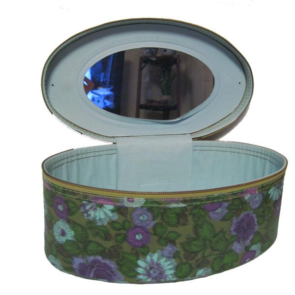 デッドストック花柄メイクボックス
