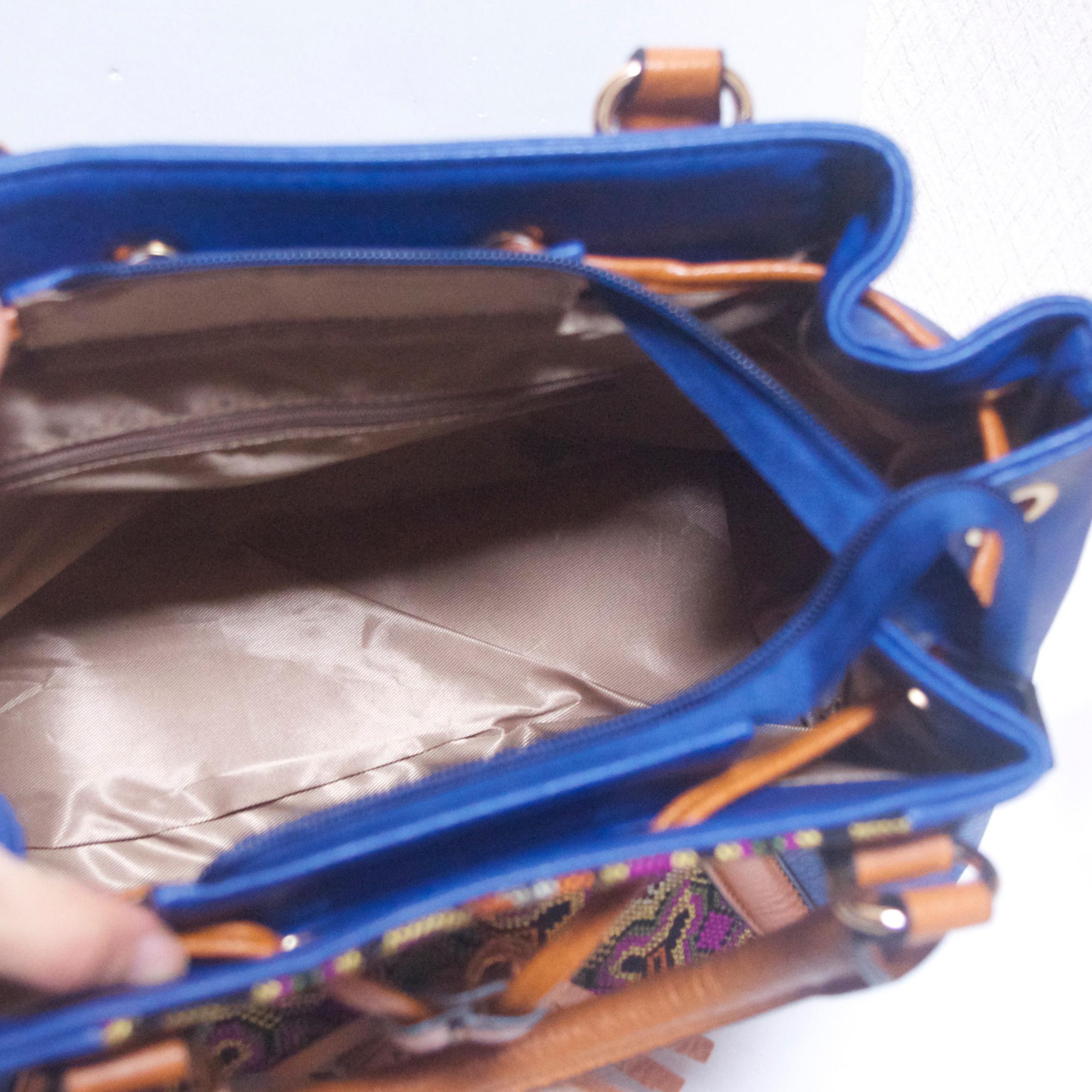 エスニックゴブランハンドバッグ