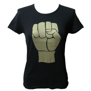 BLACK POWER Tシャツ