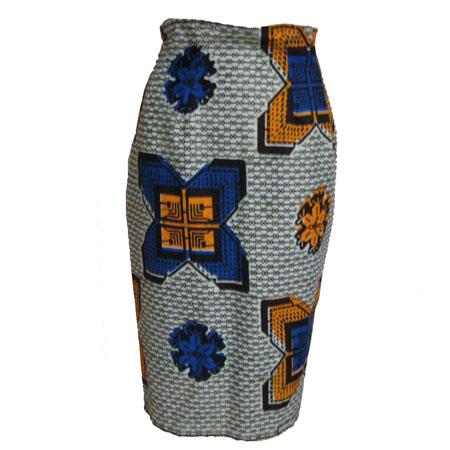 アフリカパーニュハイウエストタイトスカート