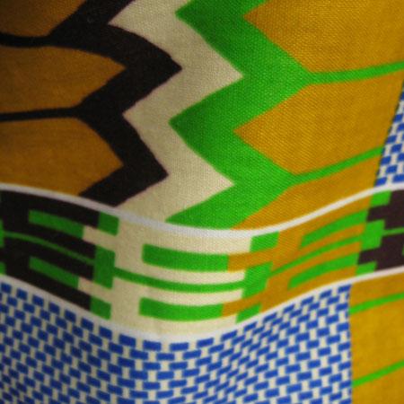 アフリカケンテ柄バギーパンツ
