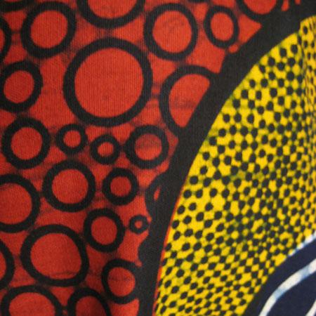 アフリカパーニュサロペットパンツ