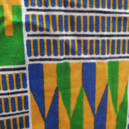 アフリカンパーニュ布巻きスカート
