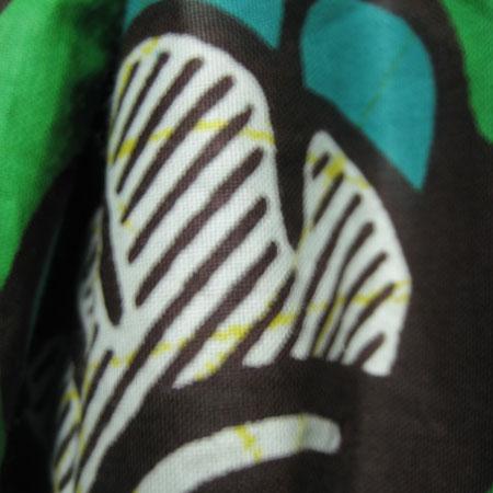 アフリカンバティックバルーンワンピース