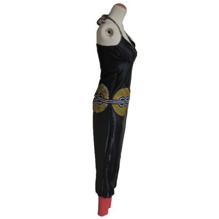 アフリカンサテンジャンプスーツ