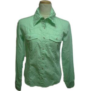 刺繍ウエスタンシャツ