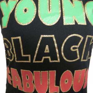 YOUNG BLACK FABULOUS Tシャツ