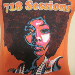 NY 718 sessionタンクトップ
