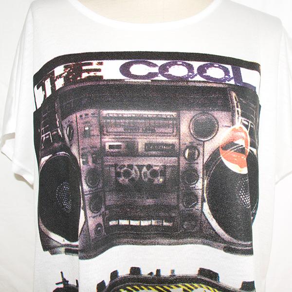 ラジカセTシャツ