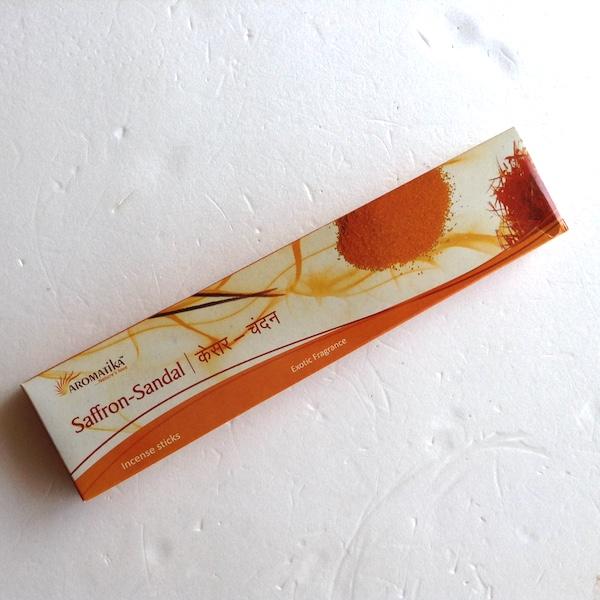 お香・インセンス Saffron sandal