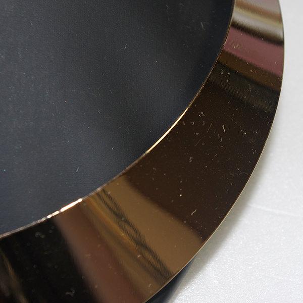 ゴールドシンプルプレートネックレス