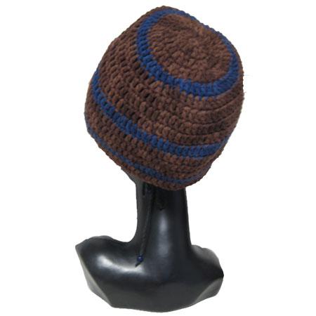 ハンドメイド帽子ツバ付きタム