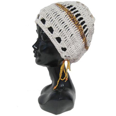 ハンドメイド帽子ヘンプタム