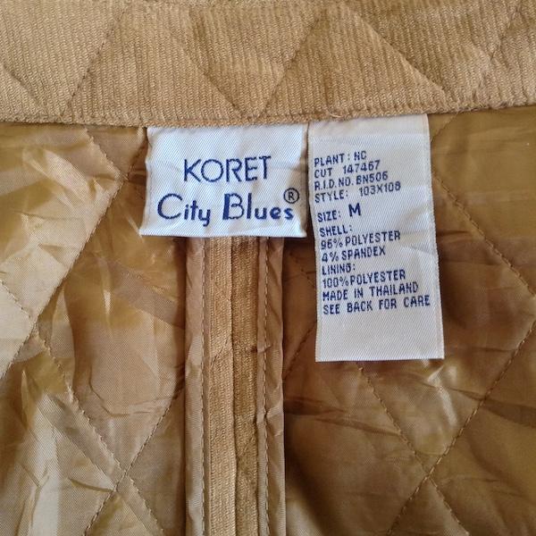 KORET CITY BLUES 80sヴィンテージキルティングジャケット