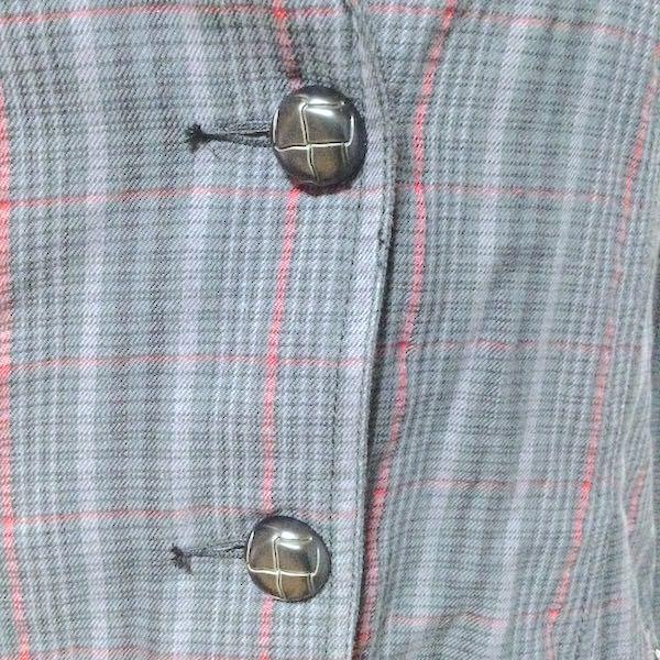 woolrichヴィンテージチェック柄テーラードジャケット