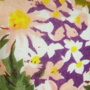 花柄ワイドパンツ