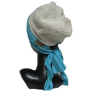 ハンドメイドローリングタム帽子