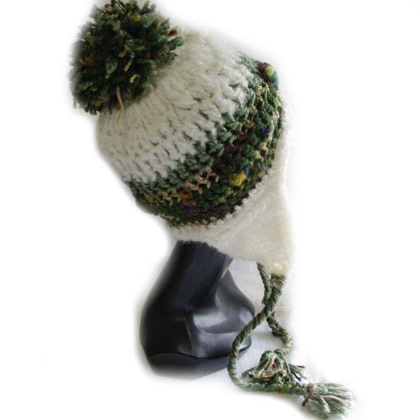 スキー帽子