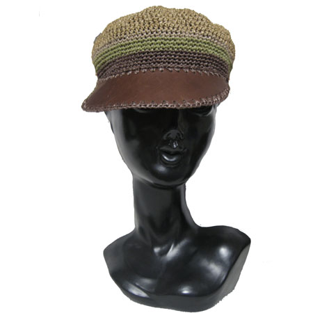 ラフィア帽子
