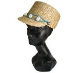 ストローハット ジョッキー帽子