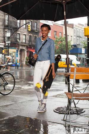vogue コーディネート ストリートファッション