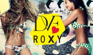 roxy DVF コラボ