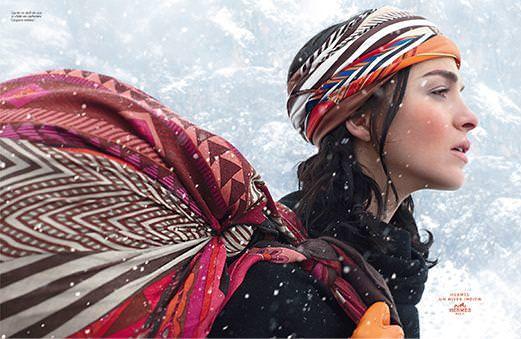 エルメス スカーフ 広告 2008