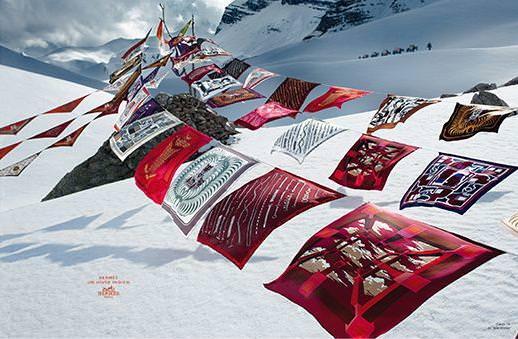 エルメス スカーフ 広告2008