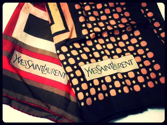 ビンテージ スカーフ