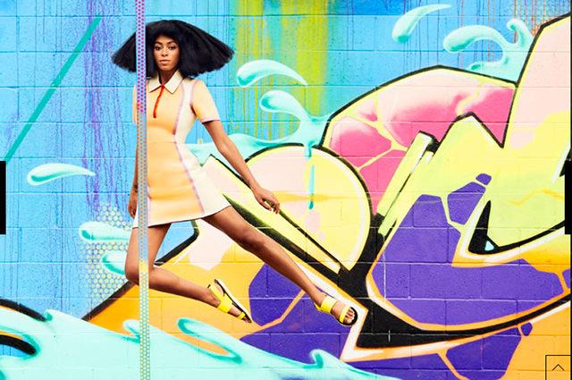 Solange Harper's Bazaar