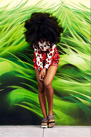 Solange x Harper's Bazaar