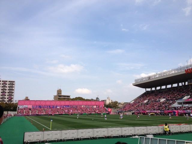 セレッソ大阪VS新潟