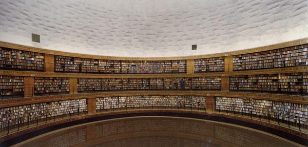 グルスキー 図書館