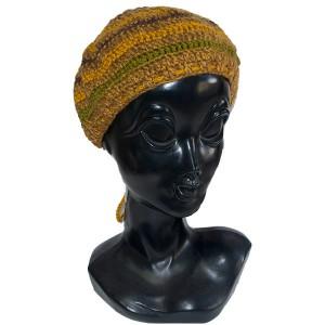 ニットタム帽子