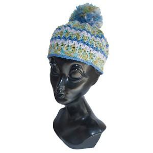 ボンボンニット帽子
