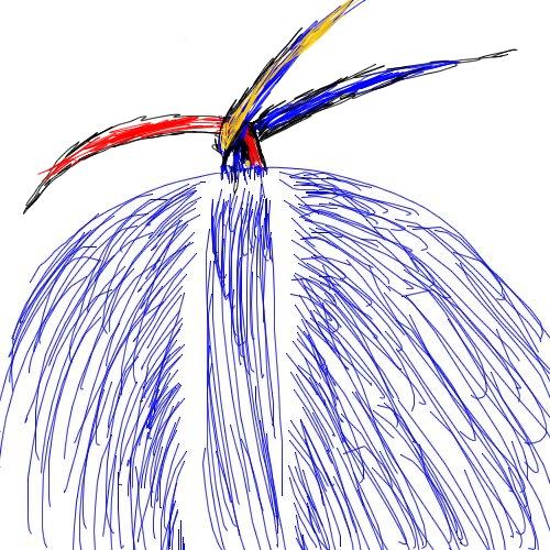 コーンロウの編み方