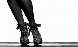 Tabitha Simmons high heel×TAPDANCE