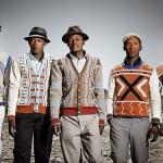 Maxhosa knitwear by Laduma Ngxokolo