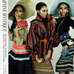 Feminine Mystique in W magazine march 2012