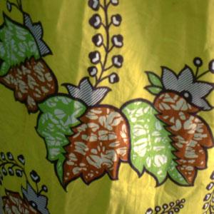 アフリカンバティックロングスカート