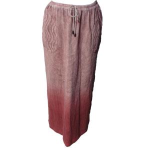 グラデーションスカート