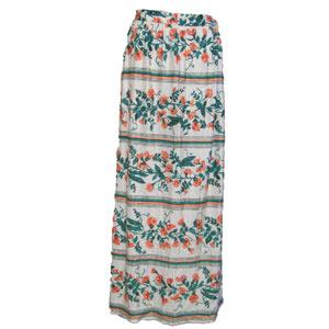 古着花柄ロングスカート
